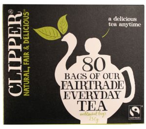 Clipper teabags